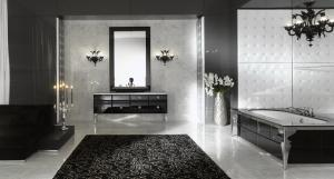 оформление ванной, купить белые розы